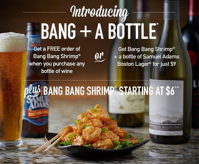 Introducing Bang + A Bottle