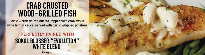 Crab Crusted Orange Roughy