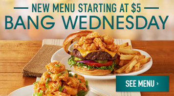 New Bang Wednesday Menu