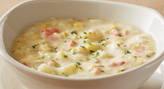 Corn Chowder + Lump Crab
