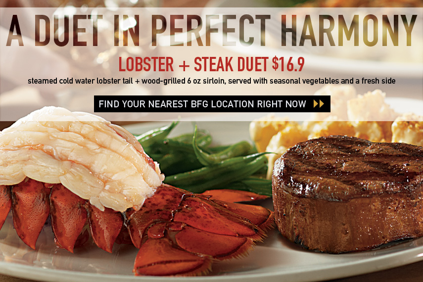 Lobster & Steak Duet