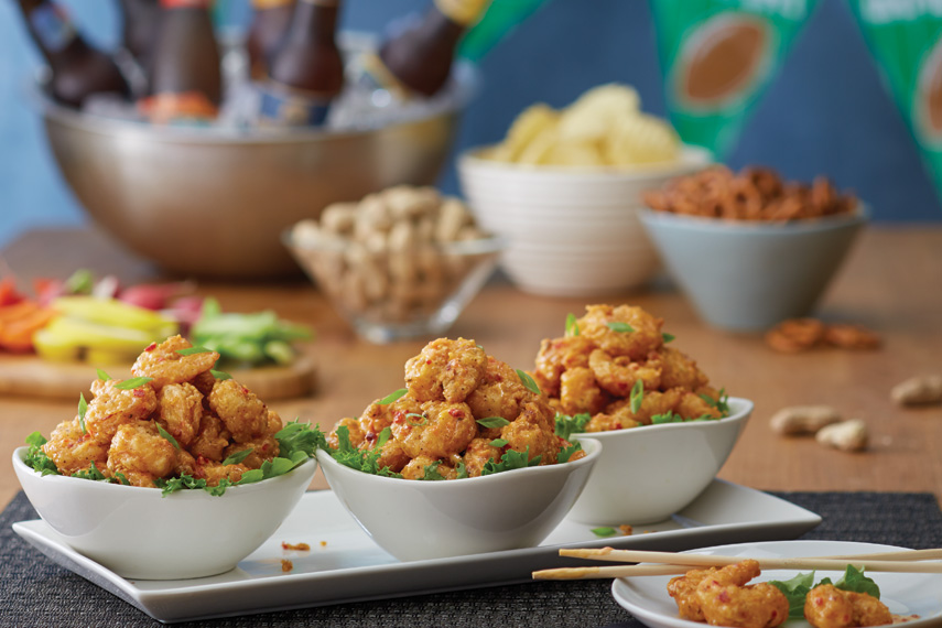 The life of your football party. Get 3 orders of Bang Bang Shrimp To-Go for only $19.9 every single Sunday. It just isn't a party unless Bang Bang Shrimp is invited.