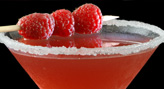 Fresh Raspberry Martini