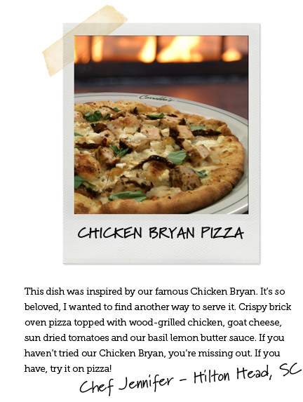 Chicken Bryan Pizza