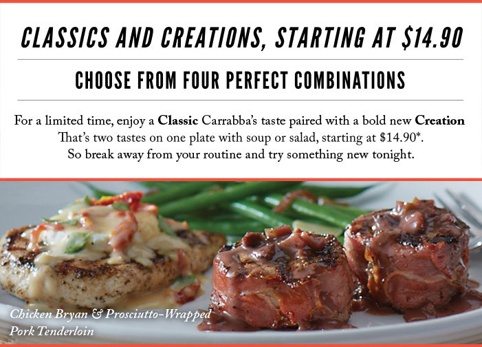 Classics and Creations, Starting at $14.90