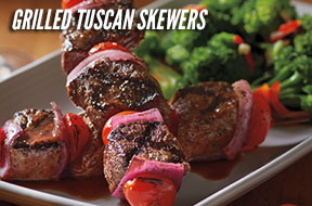 Grilled Tuscan Skewers