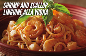 Shrimp and Scallop Linguine alla Vodka