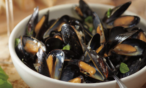 Cozze in Bianco -  Steamed Mussels