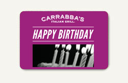 Carrabba's Italian Grill Gift Cards