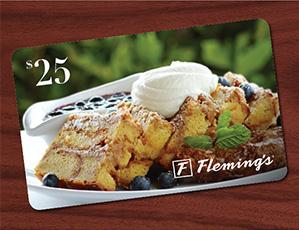 $25 Dining Card