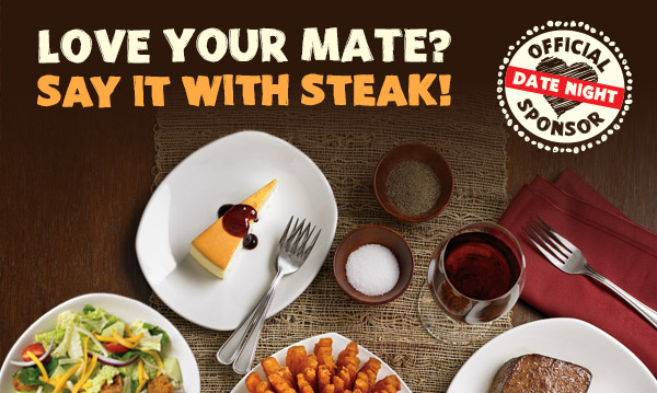 Love your mate? Say it with STEAK!