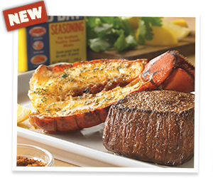 Outback Special Sirloin® & Old Bay® Lobster