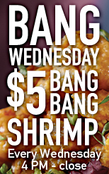 Bang Wednesday - Lunch