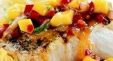 Mango, Craisins & Tomato Salsa over Grouper