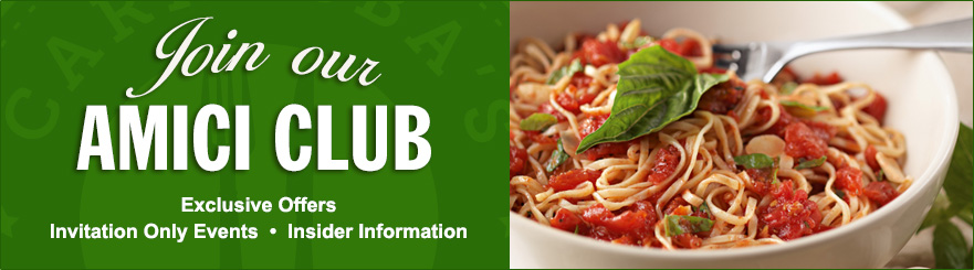 Join our Amici Club