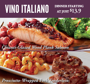 Vino Italiano, Starting at $13.9