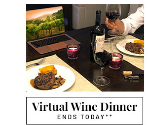 Virtual Wine Dinner - Learn more