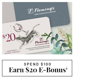 Earn $20 E-Bonus - Learn more