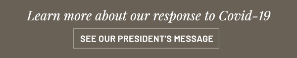 President's message - learn more