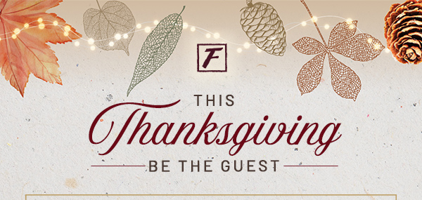 Family Thanksgiving Day Dinner at Flemings Prime Steakhouse at The River in Rancho Mirage
